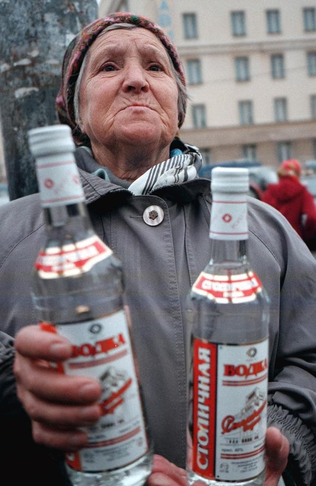 How to win at life in Russia? Drink vodka and lots of it.