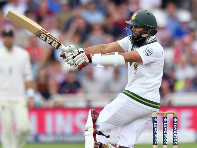 South Africa's Hashim Amla scored 87.