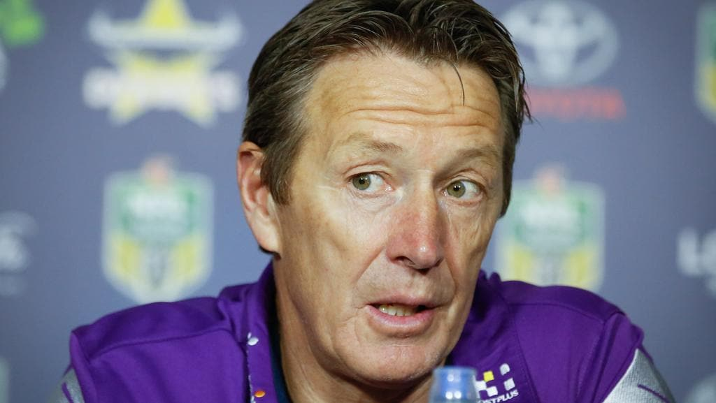 Storm coach Craig Bellamy still doesn't know what Suliasi Vunivalu was doing.