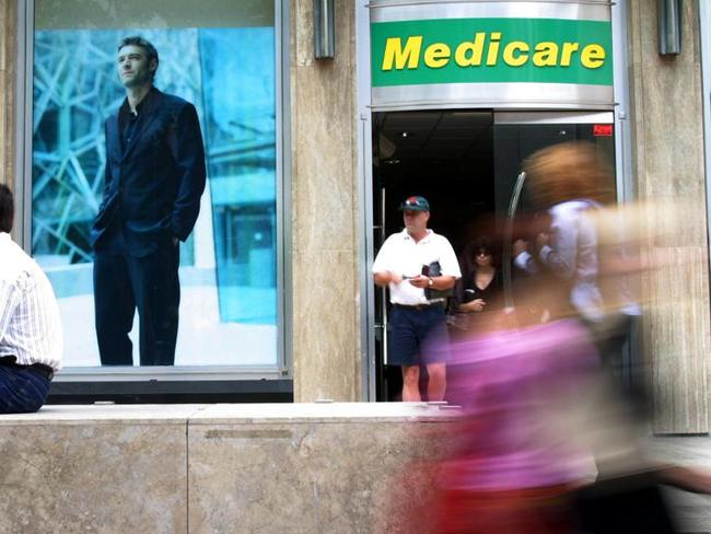 The government is urgently investigating claims that Medicare details have been breached and offered for sale on the 'dark web'. Picture: Andy Baker.