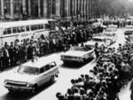 Pop band The Beatles Adelaide visit Jun 1964 - Crowd in King William Street for Town Hall welcome. Picture: News Corp