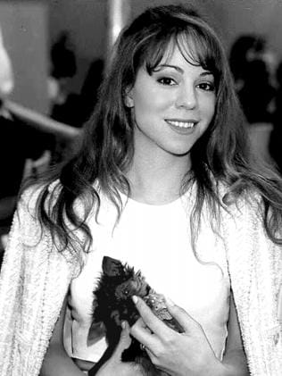Singer Mariah Carey back in 1994. Picture: Supplied