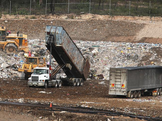 Councils unwilling to give up money to cover carbon tax on landfill sites.