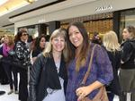 Debby Shephard and Mindy Smith at the opening of the new Zara store at Garden City. Picture: Theo Fakos