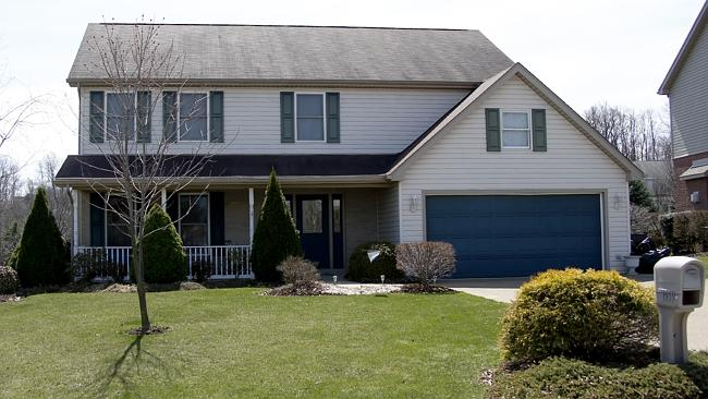 The house where 16-year-old Alex Hribal reportedly lived in Murrysville. Picture: Keith Srakocic