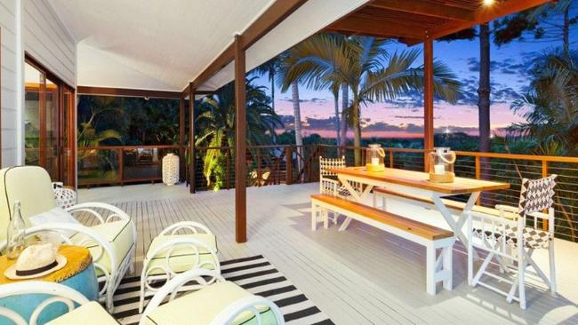 The five-bedroom home sits on a massive, elevated and landscaped block. Picture: Byron Bay Property Sales