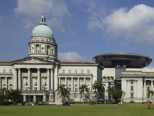 The National Art Gallery of Singapore will be housed in the former Supreme Court and City Hall.