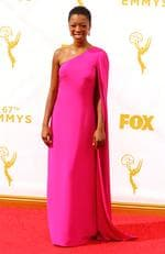 Samira Wiley attends the 67th Annual Primetime Emmy Awards in Los Angeles. Picture: Getty