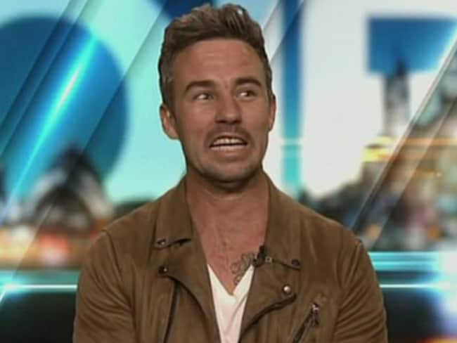 Ryan on The Project, Channel Ten.