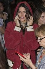 Can't find your friends, Kendall? Picture: Splash News