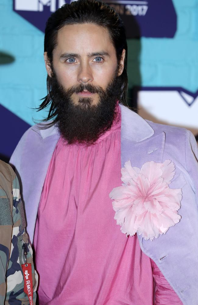Flower power by Jared Leto.