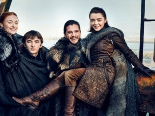 The Stark children are ready for season 7. Photo: Entertainment Weekly