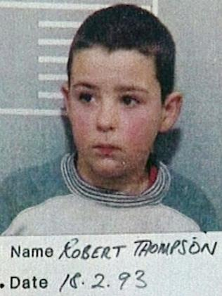 Robert Thompson committed the crime alongside Jon Venables. Picture: AP