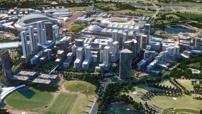 Apartment Towers Up To 30 Storeys Are Part Of The 2030 Master Plan For Sydney Olympic Park Supplied By NSW Govt