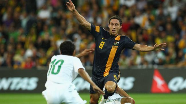 The Socceroos met Saudi Arabia as part of their successful qualification for the 2014 World Cup.