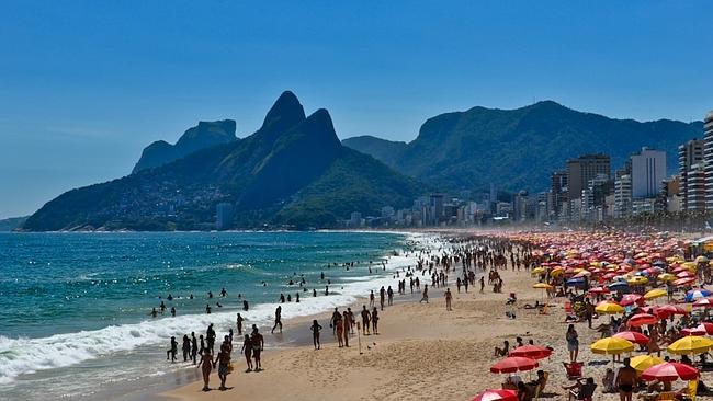 Walk around and sing  <i> The Girl from Inpanema </i>and you'll fit right in. Oh, and wear a bikini. Picture: Dabldy