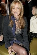 Charlotte Dawson at the Myer Spring/Summer Collections launch at Fox Entertainment Quarter, Moore Park. Picture: Noel Kessel