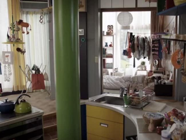 Shoshanna's Tokyo apartment on HBO's Girls.