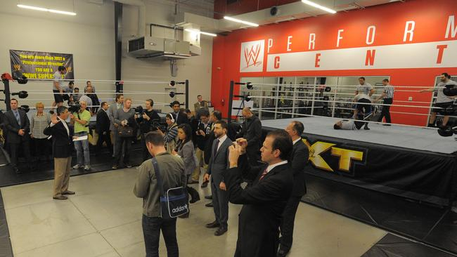 WWE Performance Centre in Orlando.