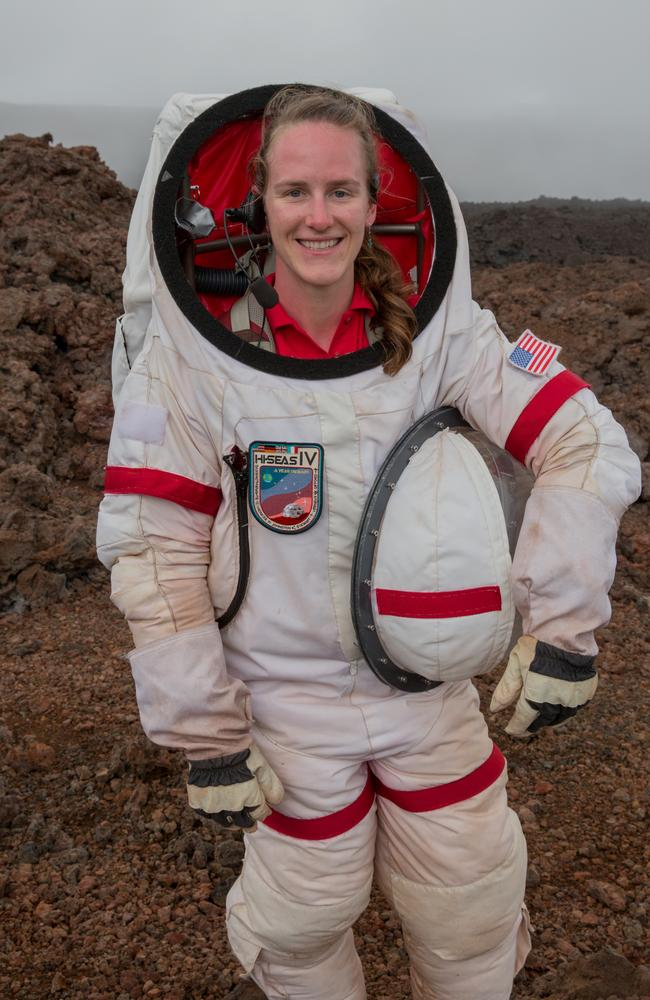 Carmel Johnston former Commander of the Hawaii Space Exploration Analog and Simulation Mars Mission.