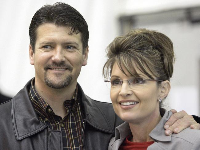 Wild party...Todd Palin ended up with a bloody nose, before police arrived and cleared out the party. Picture: AP