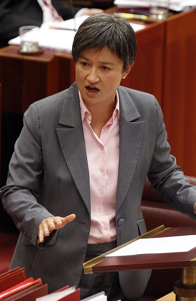 POWER: Senator Penny Wong says her schoolyard days toughened her for life in politics.