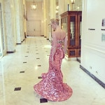 "Kate Bosworth ... ""Testing the twirl @dolcegabbana"" Picture: Instagram"