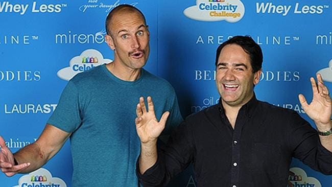Nova's Fitzy and Wippa provided much entertainment to viewers. Picture: Supplied