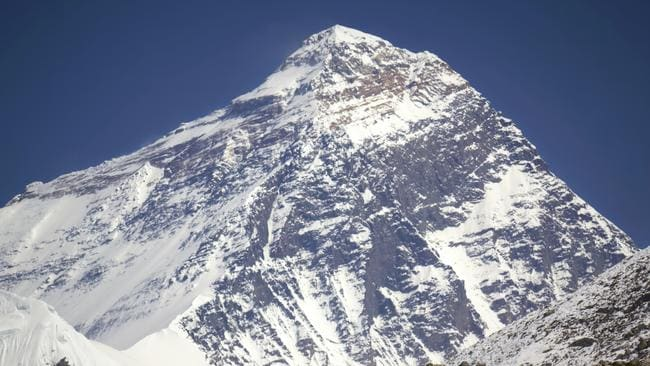 If only the weather on Everest was this benign every day.