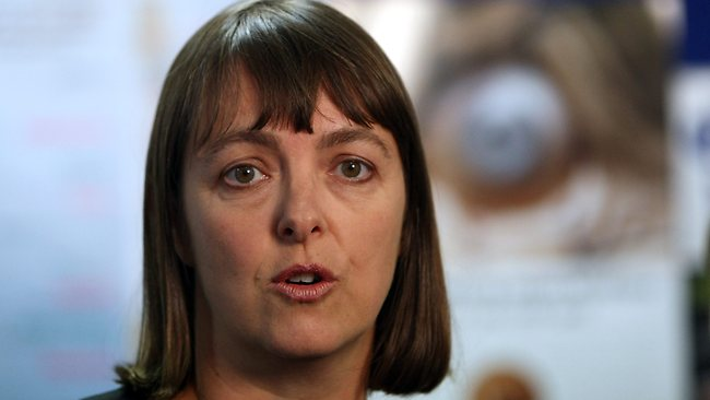 Attorney-General Nicola Roxon says the debate around new online laws has become hysterical. Picture: Stuart Mcevoy