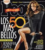 """<p>Jennifer Lopez -- in a photo by Tony Duran -- on the cover of People En Espanol's """"50 Most Beautiful"""" in 2006.</p>"""