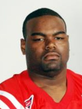 The real Michael Oher.
