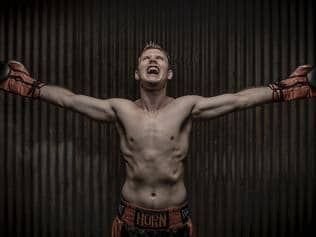 SUNDAY MAIL Jeff Horn boxer Picture Peter Wallis