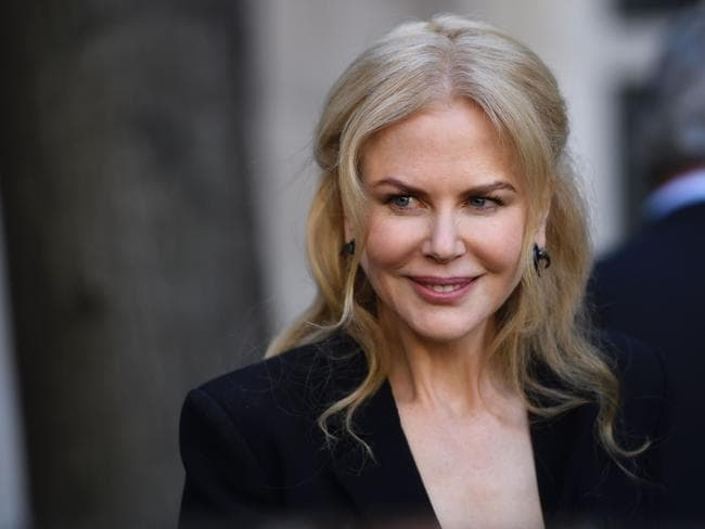 'Be yourself'. Nicole Kidman has posed without make-up for the iconic Pirelli calendar. Picture: AFP