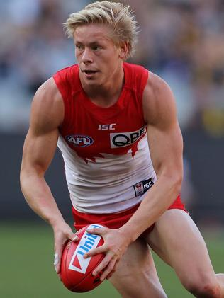 Isaac Heeney hails from Newcastle. Picture: Michael Klein