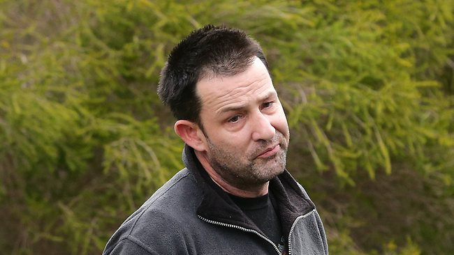 Cory Ryther, husband of murder victim Joan Ryther, at his home last week. Pic: Darren England