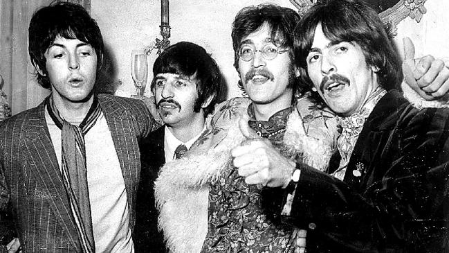 The Beatles — from left, Paul McCartney, Ringo Starr, John Lennon and George Harrison — in 1967.