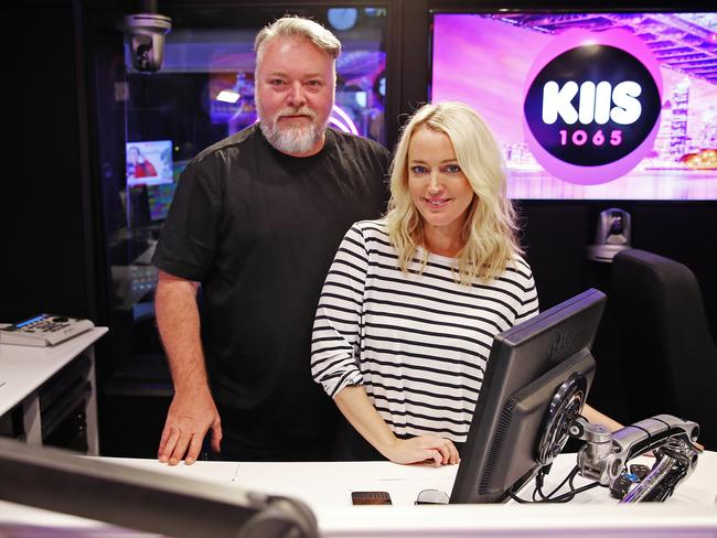 Kyle Sandilands filled co-host Jackie O in on his family trauma on-air this morning.