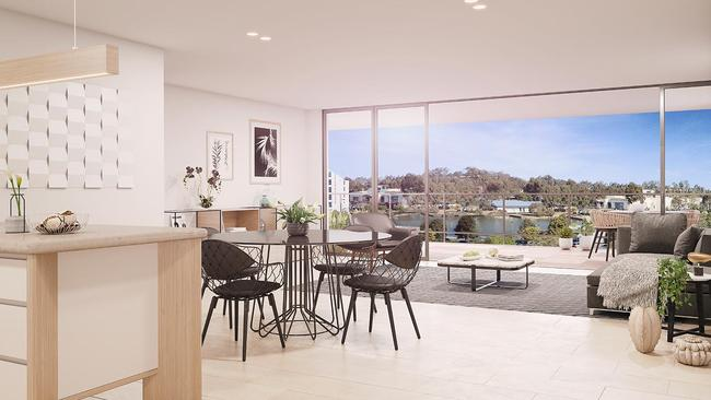 Apartment prices start from $650,000.