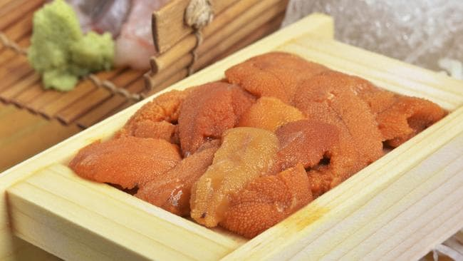 Uni is a favourite on Japanese menus.