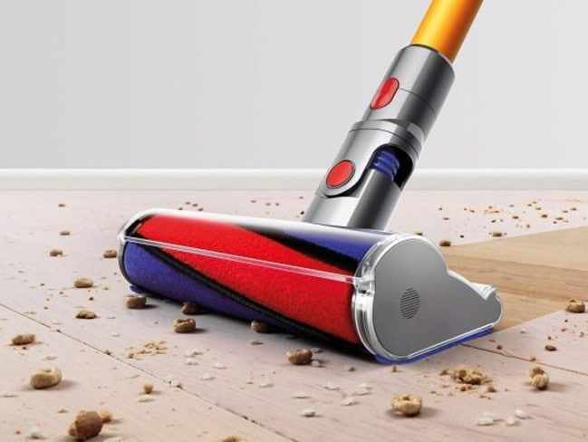 An artist's impression of how a Dyson vacuum should clean.