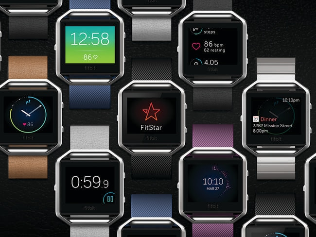 New product ... Fitbit has revealed its first fitness watch