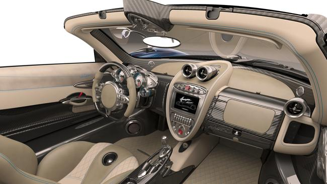 The interior is typical leather-lined luxury. Pic: Supplied.