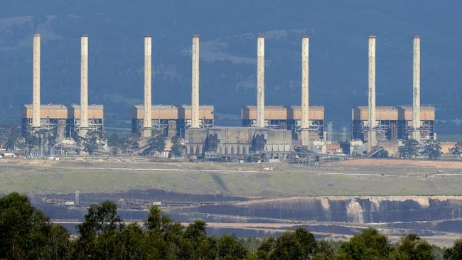 Hazelwood coal fired power station in Victoria's La Trobe Valley has closed after 52 years of operation. Picture: Mal Fairclough/AAP