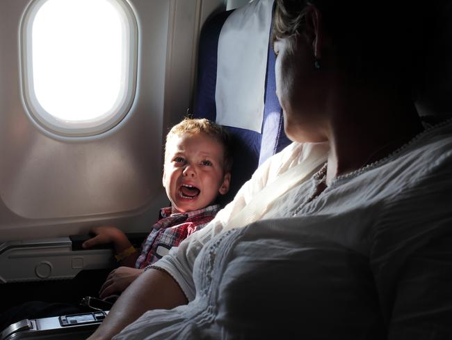 Flying next to a kid doesn't have to be a nightmare