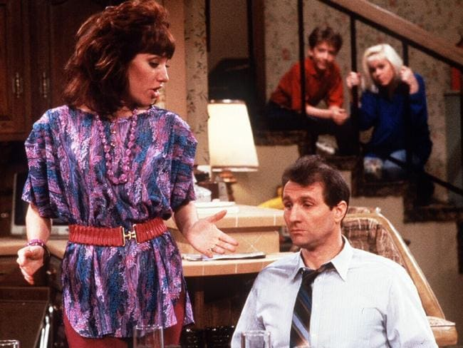 Katey Sagal (left) starred in TV show Married With Children. Picture: Supplied