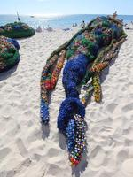 57 - Kerrie Argent - Overconsumption. Sculpture by the Sea exhibition at Cottesloe Beach. Photo Ross Swanborough.