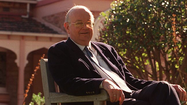 Professor Ian Maddocks at Daw House Hospice. Picture: Grant Nowell
