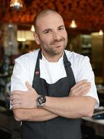 <p>Take a look back at the Melbourne chef who, from humble beginnings, has become one of the most recognizable names in Aussie kitchens.</p>  <p>Calombaris pictured at his new Greek restaurant, Gazi in Melbourne. Picture: Drewitt Andy</p>