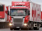 Trucks for Coles Strike